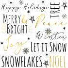 Merry and Bright Typography