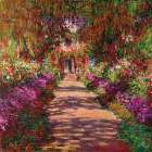 Path in Monets Garden Giverny