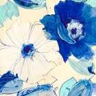 Toile Fleurs I