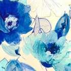 Toile Fleurs II