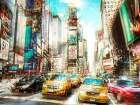 Times Square Multiexposure I