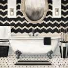 Black and Gold Bath II