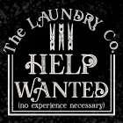 Laundry Room Humor black II-Help Wanted