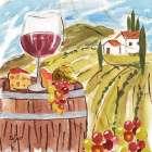 Tuscan Watercolor I