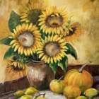 Sunflower bouquet lV