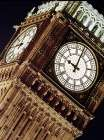 Low angle view of big ben at night, Parliament, England