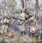 Gathering Bluebells