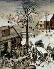 Census at Bethlehem - Detail