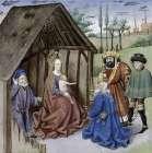 Nativity With Three Kings