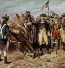 Washington Firing First Shot at Yorktown