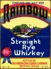 Rainbow Straight Rye Whiskey