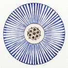 Blue Striped Bowl