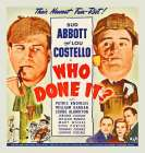 Abbott and Costello - Who Done It