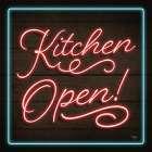Neon Kitchen Open