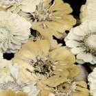 Floral Abundance in Gold I