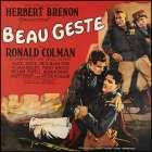 Movie Poster: Ronald Colman - Beau Geste