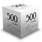 500 Printing Credits